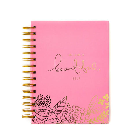 Be Your Beautiful Self Spiral Bound Notebook