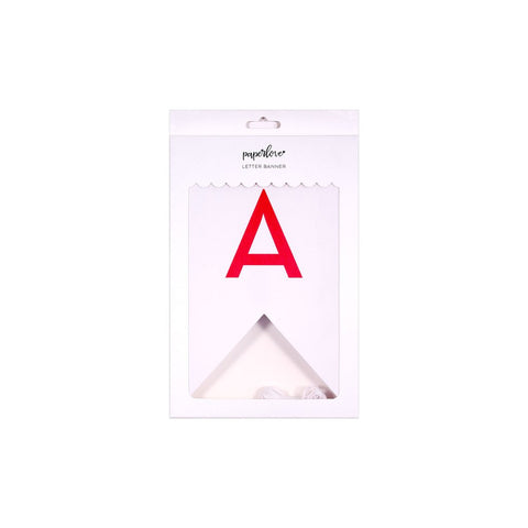 Bright Birthday 60pc Letter Banner