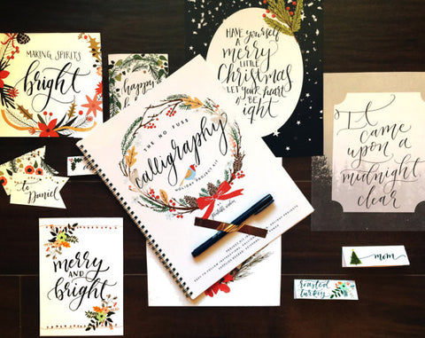 No Fuss Calligraphy Holiday Project Kit