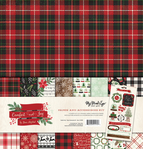 Christmas Paper & Accessories Kit