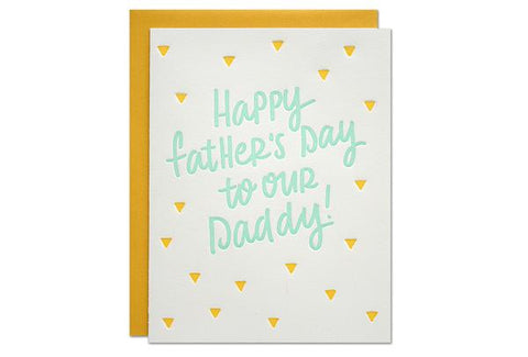 Happy Father's Day to our Daddy Card