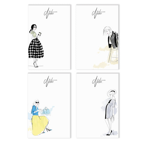 Assorted Fashion Notepad