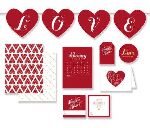 Valentine's Day printables to instantly get you ready for the holiday!
