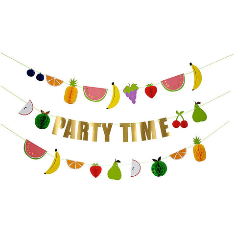 Fruit Party Garland Kit