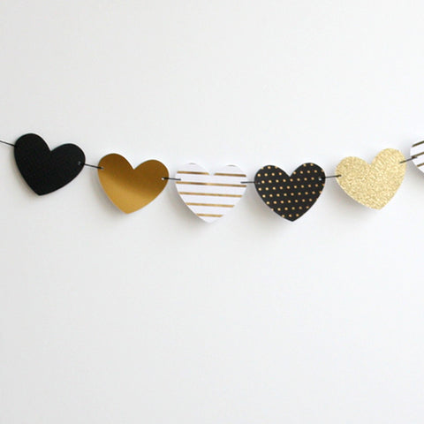 Gala Heart Garland Kit