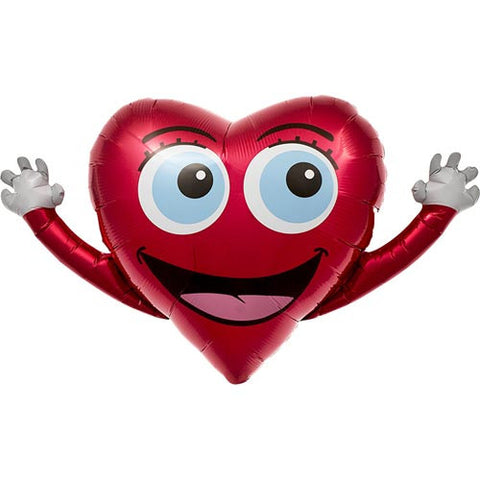 Happy Heart Balloon