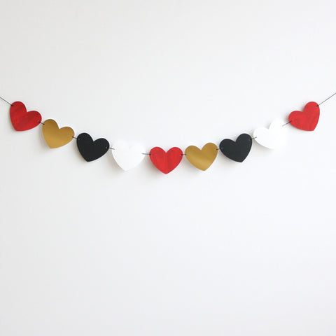 Hey Valentine Heart Garland Kit