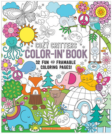 Cozy Critters Coloring Book