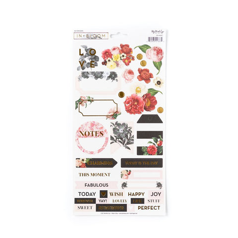 In Bloom 6 x 12 Sticker Sheet