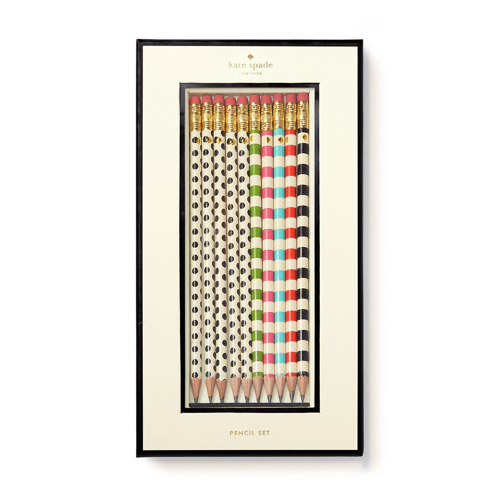 kate spade new york pencil set