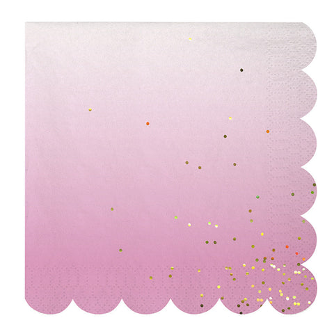 Large Ombre Napkins