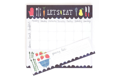Let's Eat Notepad