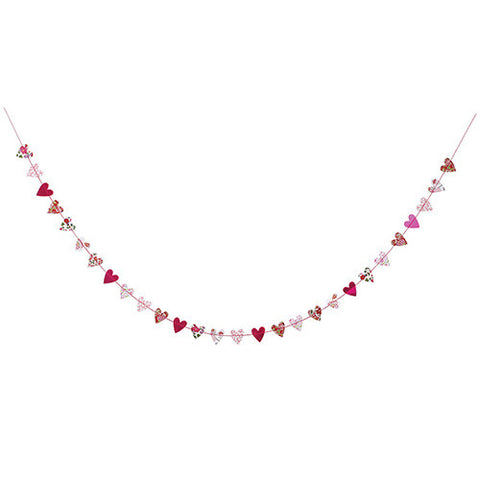 Liberty Floral Heart Garland