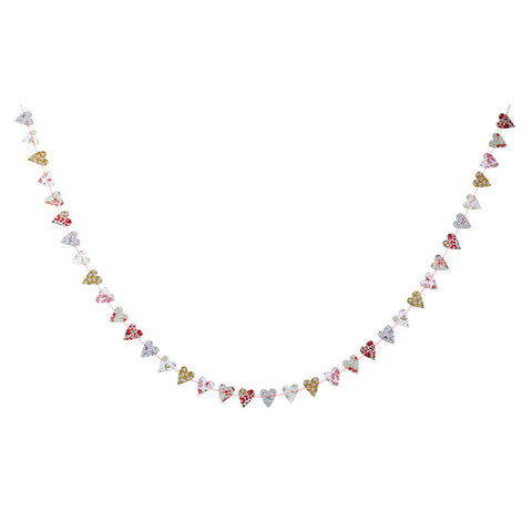 Liberty Floral Mini Heart Garland