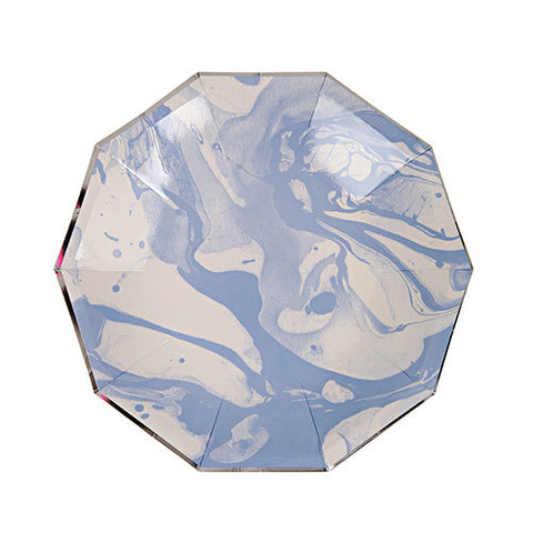 Blue Marble Small Paper Plates