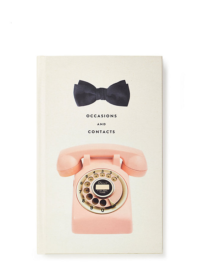 Kate Spade New York Occasions and Contacts Book