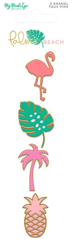 Palm Beach Enamel Pins