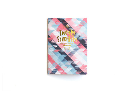 2017 Plaid Pocket Planner