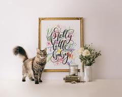 Pretty Little Baby Art Print