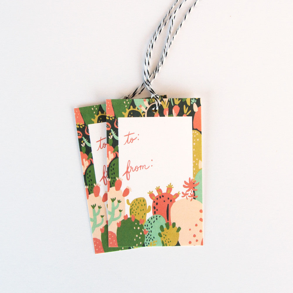 Prickly Pear Gift Tags