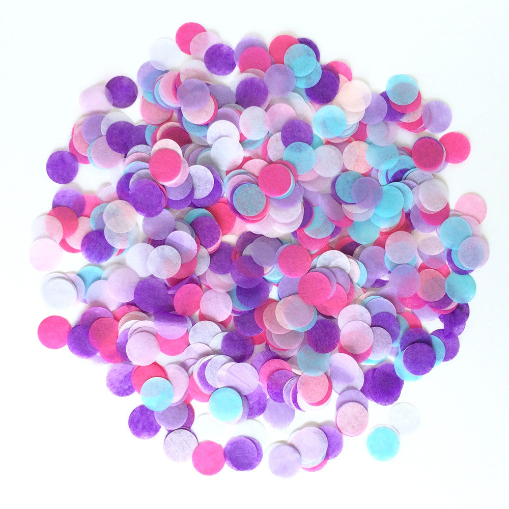"Princess 1"" Heart Confetti"