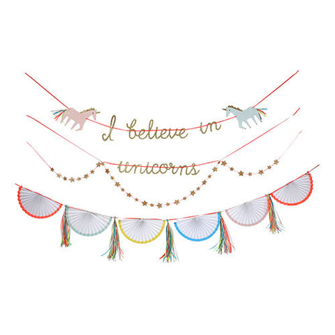 Rainbow Unicorn Garland Kit