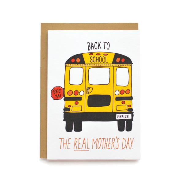 'Real' Mothers Day Card