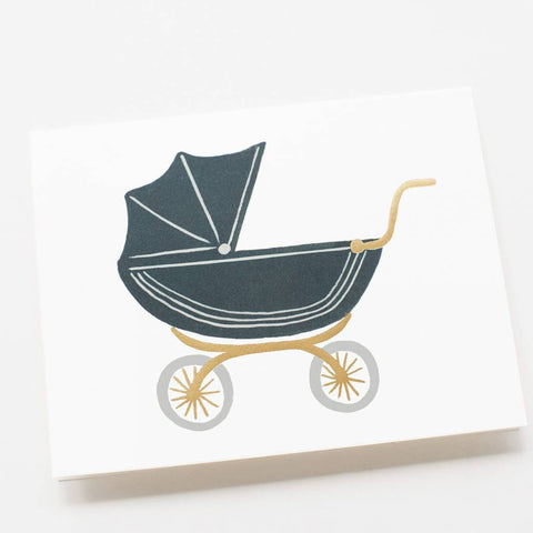 Baby Pram Greeting Card from Rifle Paper Co.