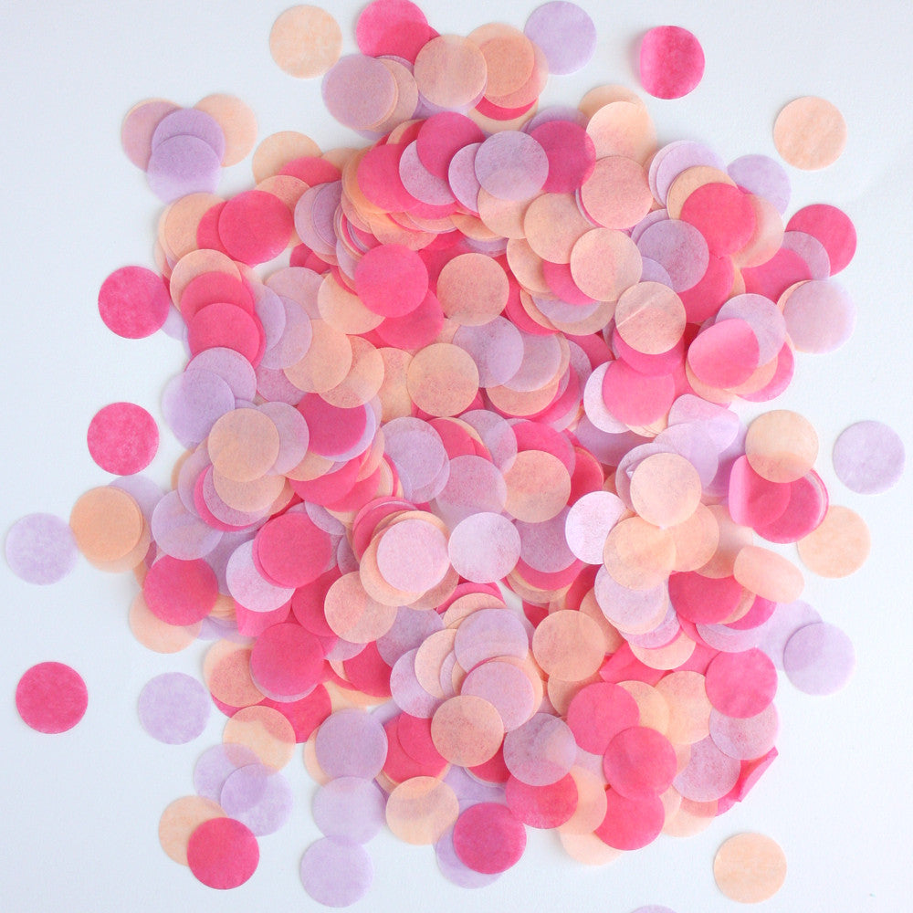 "Sugar Plum Fairy 3/4"" Circle Confetti"