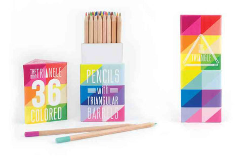 Triangle Colored Pencils