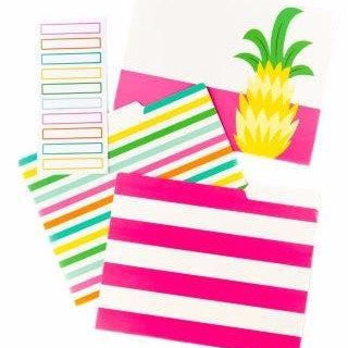 Tropical File Folders