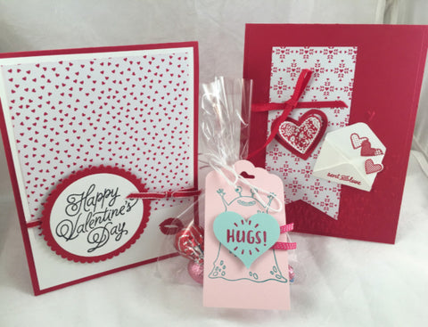 Valentine's Day Card Class - Saturday February 4th