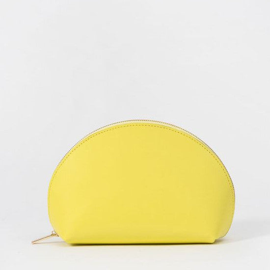 Yellow Cosmetic Pouch