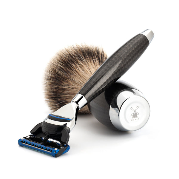 EDITION 1 - Shaving set, 3-parts, silvertip badger, Gillette® Fusion