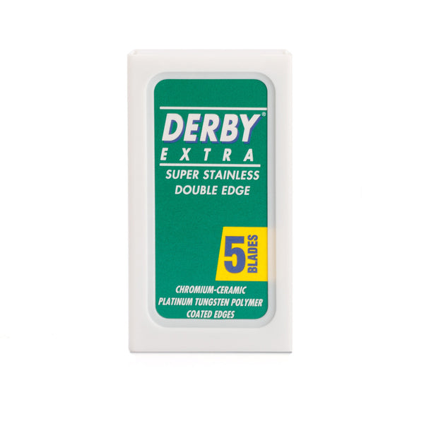 Derby Extra, Coated Barberblade 10 stk.