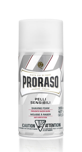 Proraso barberskum - Aloe & Grøn te (sensitiv hud) 300 ml