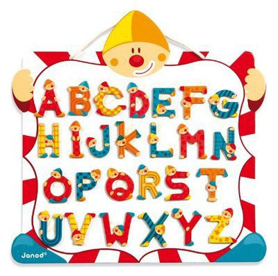 Clown-Magnet-Letter-Board