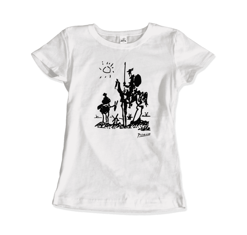 Pablo Picasso Don Quixote of La Mancha 1955 Artwork T-Shirt - dreadavinci
