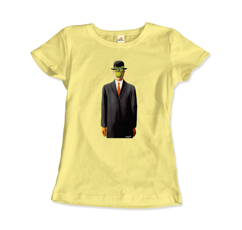 Rene Magritte the Son of Man, 1964 Artwork T-Shirt - dreadavinci