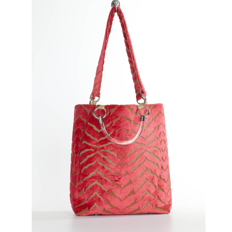 Magnetic Coral Large Tote - dreadavinci