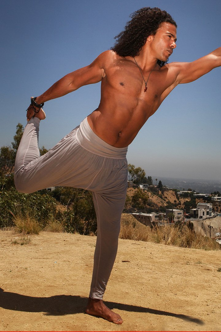 "Men's Yoga"" Satya""  Drop Crotch Pants - dreadavinci"
