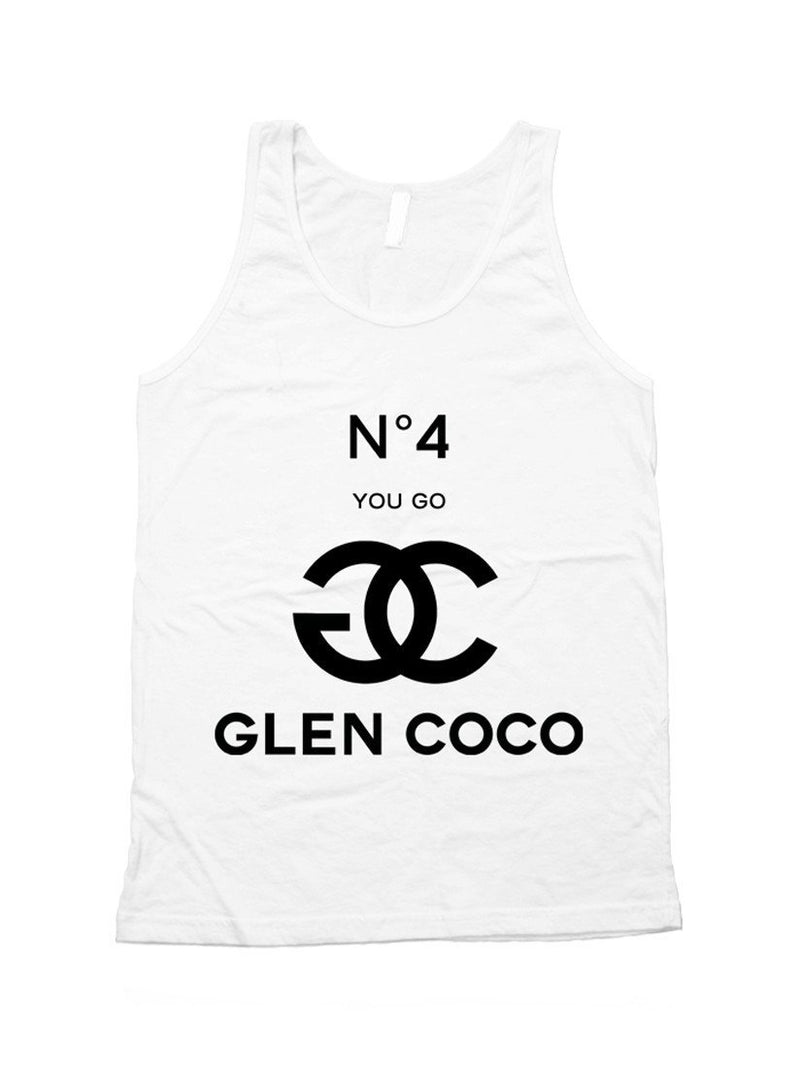 You Go Glen Coco No 4 Unisex Tank Top - dreadavinci