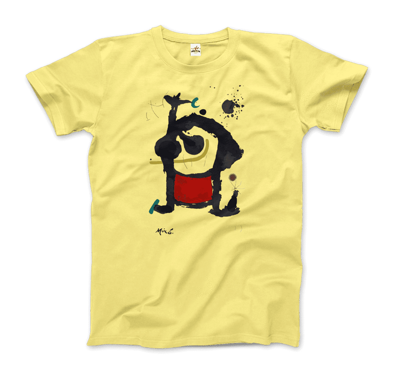 Joan Miro Bethsabee 1972 Artwork T-Shirt - dreadavinci