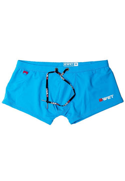 "Quick Dry UV Protection Perfect Fit Turquoise Beach Trunks ""Brighton"" - dreadavinci"