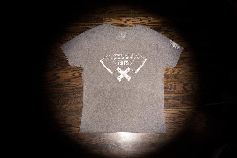 Cleavers Grey V Neck