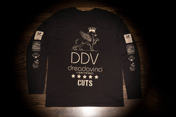 Certified Long Sleeve Noir - dreadavinci