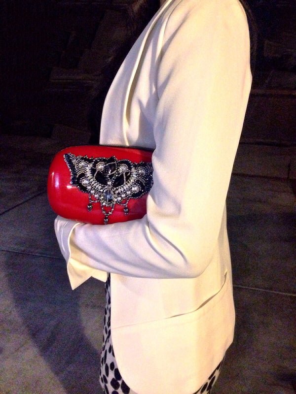 Candy Clutch (Red/Black) - dreadavinci