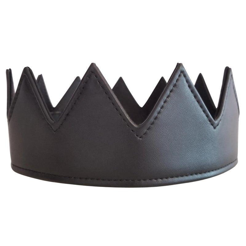 Black Leather Crown - dreadavinci