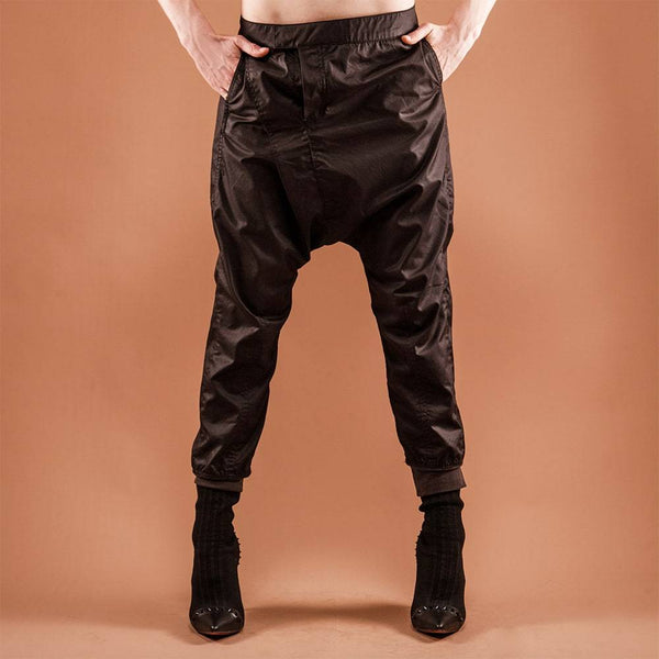 Shinobi Trousers Black by GUZUNDSTRAUS - dreadavinci