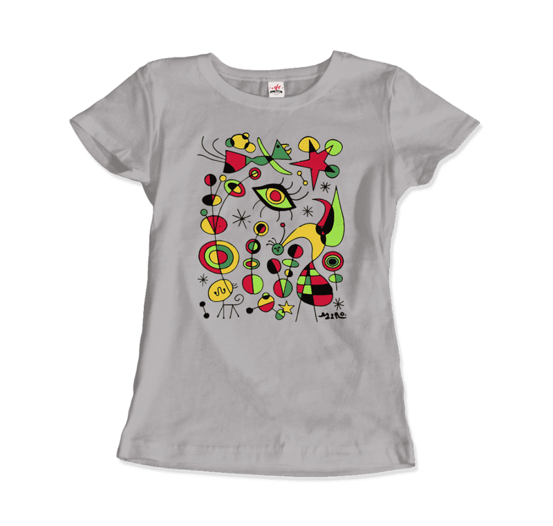 Joan Miro Peces De Colores Artwork T-Shirt - dreadavinci
